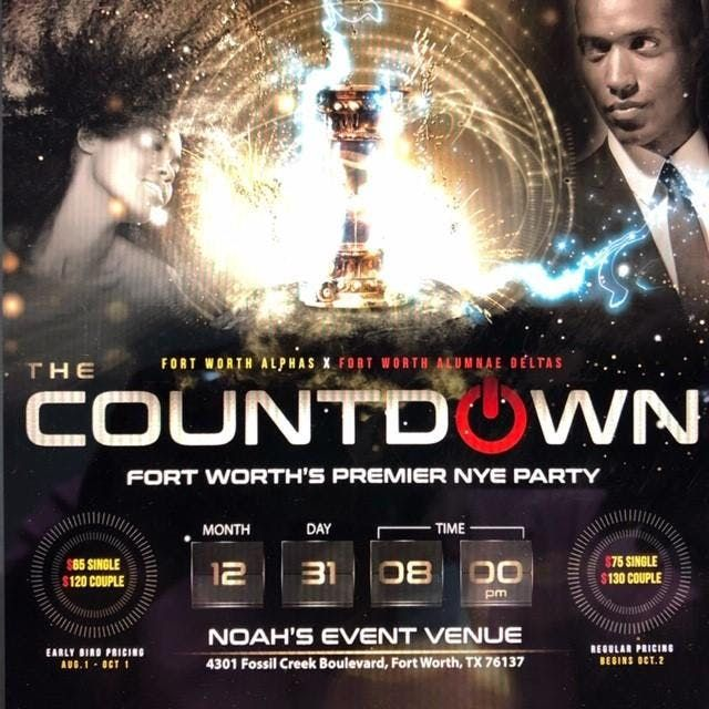 Fort Worth New Years Eve 2020 COUNTDOWN 2020: Fort Worths Premier New Years Eve Party at NOAH'S