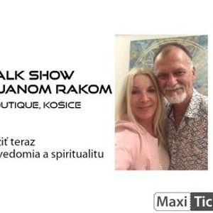 Interaktvna Talk show Evy ernej s Prof. Janom Rakom  Koice