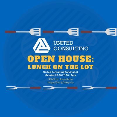 Open House Lunch on the Lot