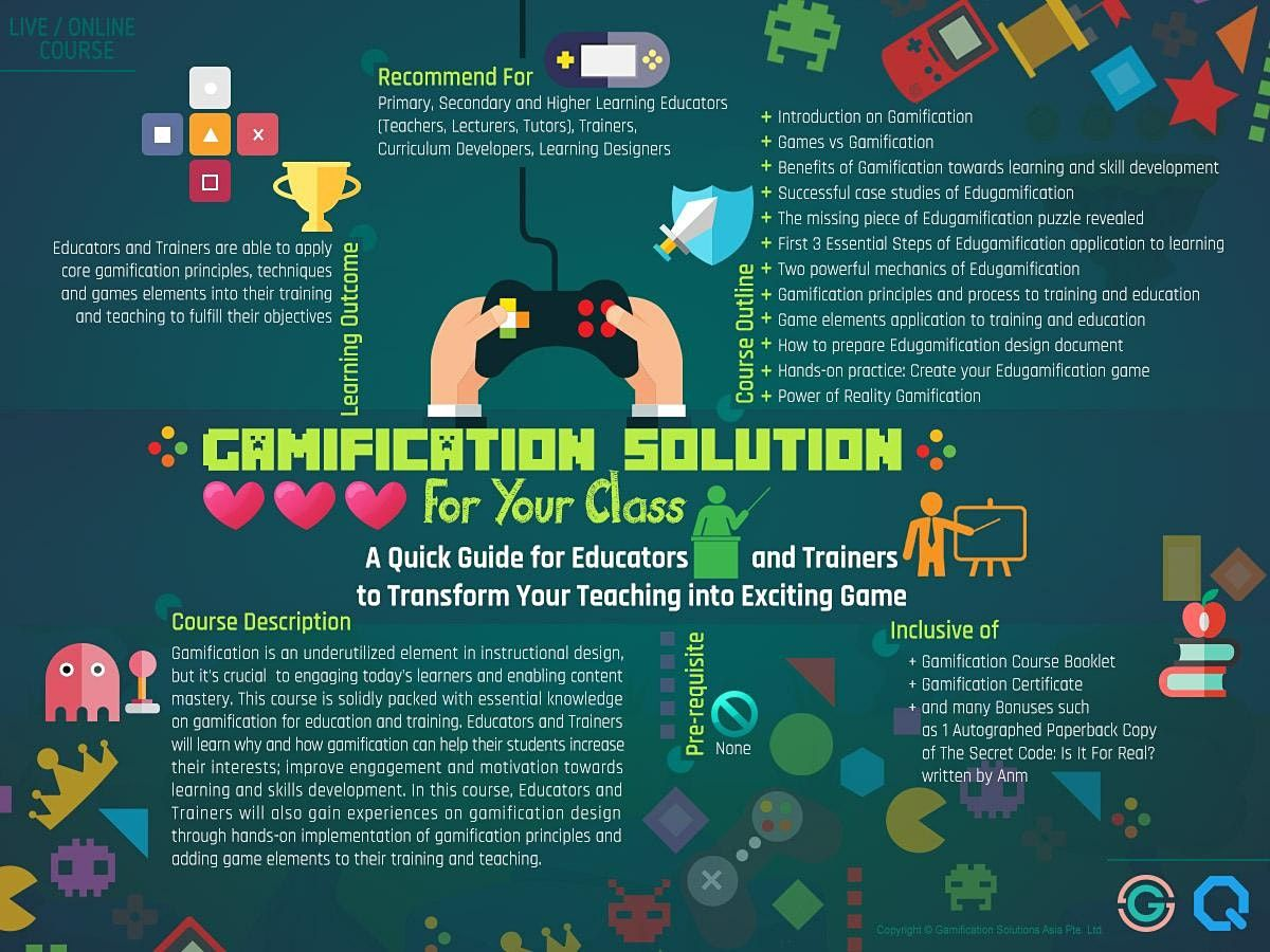 Gamification Solution For Your Class* | Event in Paya Lebar | AllEvents.in