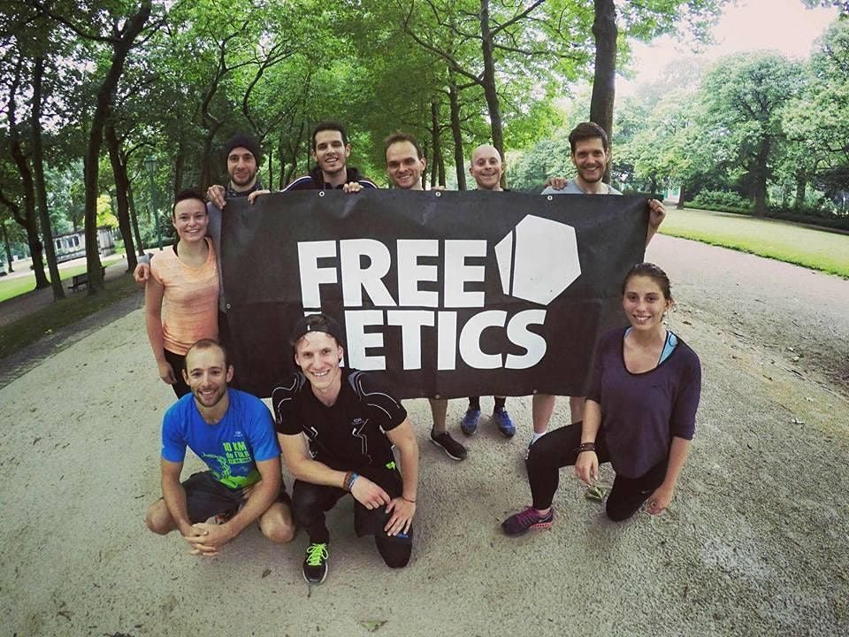 Brussels Free Sport & Social Event Thursday Freeletics Workout