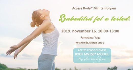 Access Body Minitanfolyam - Mtvss modul