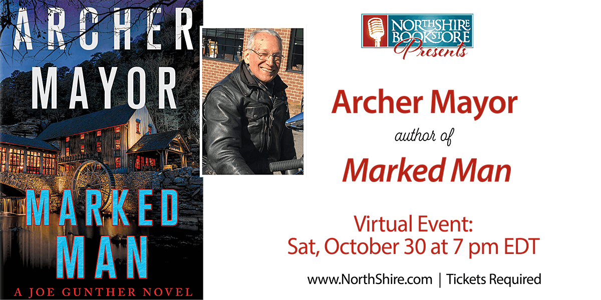 "Northshire Online: Archer Mayor ""Marked Man"", 30 October | Online Event | AllEvents.in"