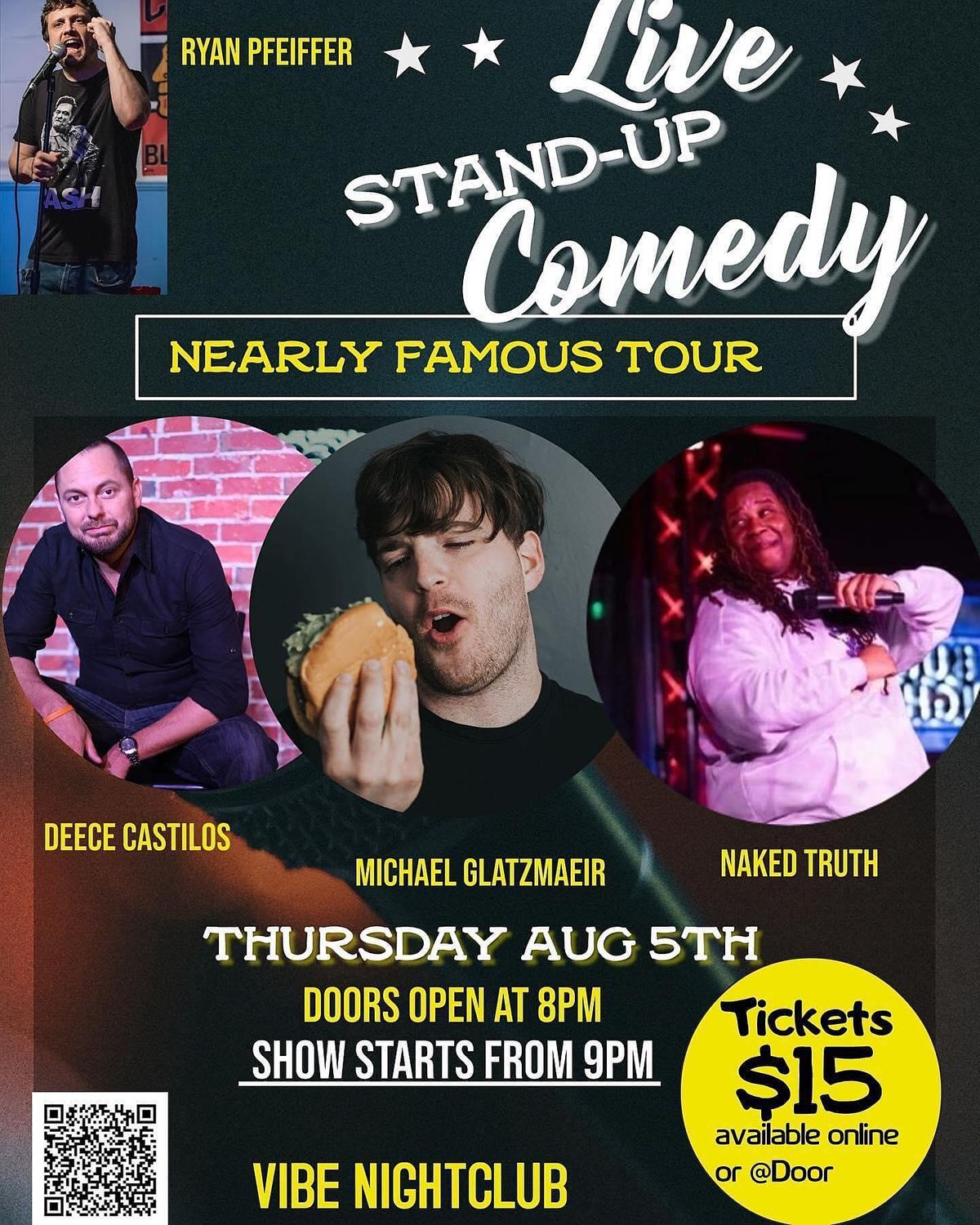 Michael Glatzmaier's Nearly Famous Tour Improvised Musical Stand-Up Comedy, 5 August | Event in Fort Walton Beach