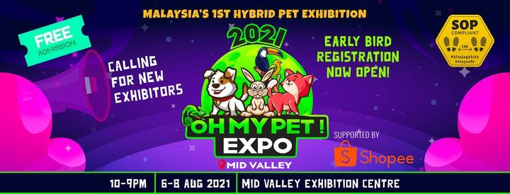 OH MY PET! EXPO, 6 August | Event in Kuala Lumpur | AllEvents.in