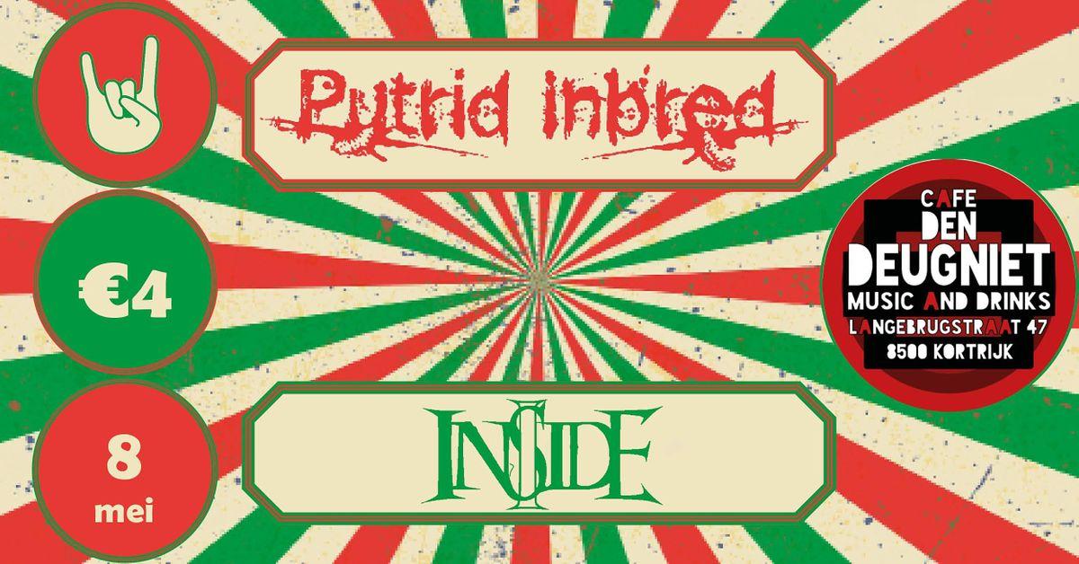 Putrid Inbred & I Inside, 8 May   Event in Kortrijk   AllEvents.in