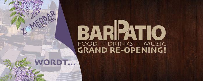 "Opening weekend ""BAR PATIO"" (vanaf woensdag 13/10)   Event in Mortsel   AllEvents.in"