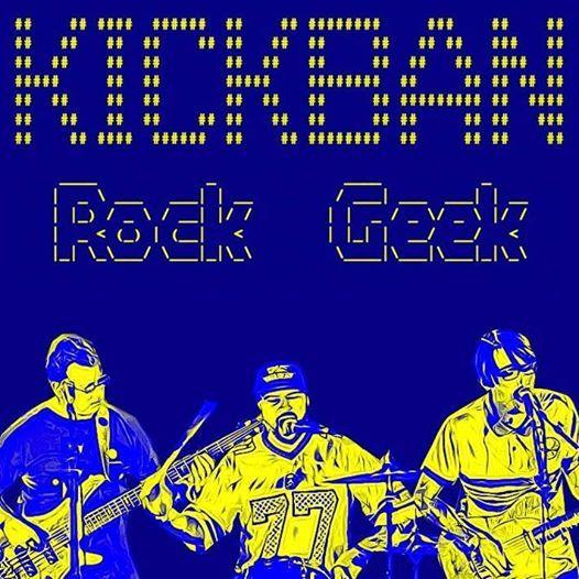 Kickban (Rock Geek  PARIS) en Concert au Delirium Caf Orlans