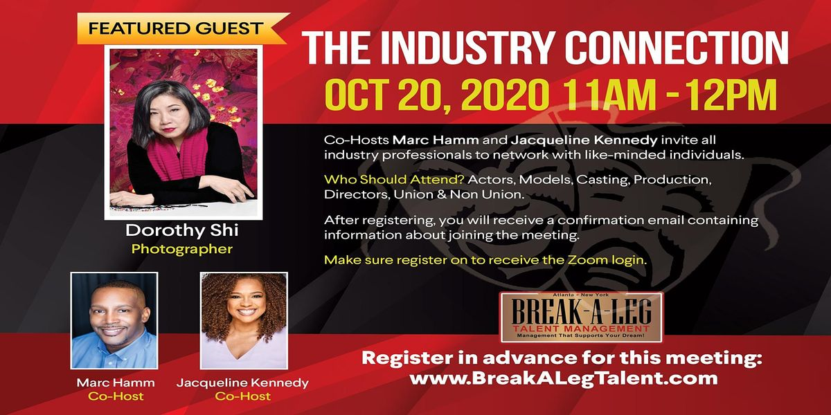 The Industry Connection - Photographer Dorothy Shi | Online Event | AllEvents.in
