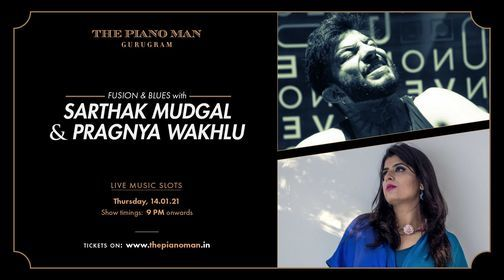 Sarthak Mudgal & Pragnya Wakhlu | Event in Gurgaon | AllEvents.in