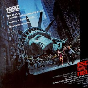 Escape From New York (1981)  12 other sci-fi classics