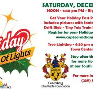 Holiday Festival of Lights Presented by The Gunterberg Charitable Foundation - Culliton Family