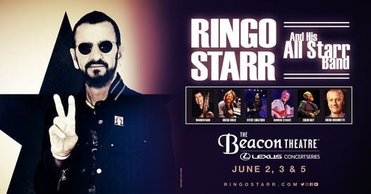 Ringo Starr - NEW DATE, 8 June | Event in New York | AllEvents.in