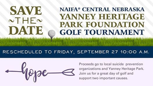 NAIFA Central Nebraska Yanney Heritage Park Golf Tournament