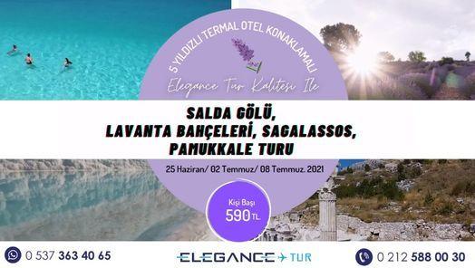 Salda Gölü - Lavanta Bahçeleri - Pamukkale, 2 July | Event in Istanbul | AllEvents.in