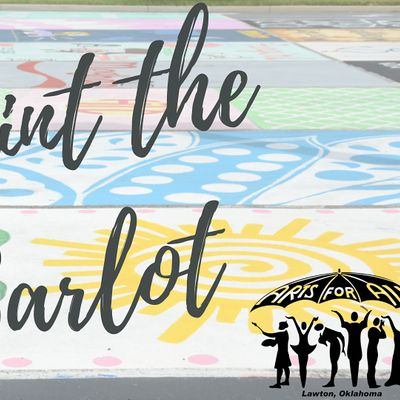 Paint the Car Lot for Arts for All