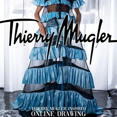 THIERRY MUGLER inspiredOnline Drawing WITH HOUSE OF NAMASTE