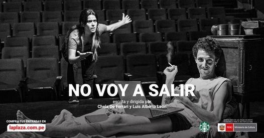 No voy a salir   Event in Lince   AllEvents.in