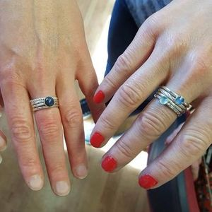 Silver Stacking Rings Workshop
