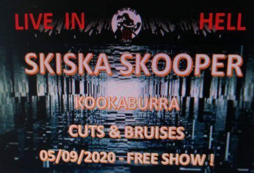 UITGESTELDSkiska Skooper - Kookaburra - Cuts & Bruises