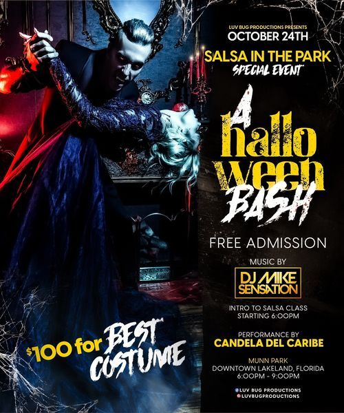 Salsa in the Park, 24 October   Event in Lakeland   AllEvents.in