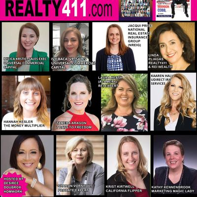 Learn from the LADIES Who ROCK Real Estate - PLUS Join Our Investor Groups