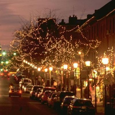 Holiday Lights and Guided Tour of Old Town Virginia with Nightlife Exp.