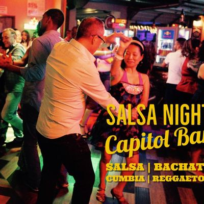 Salsa Night Salsa Bachata Reggaeton Party at Capitol Bar 1228