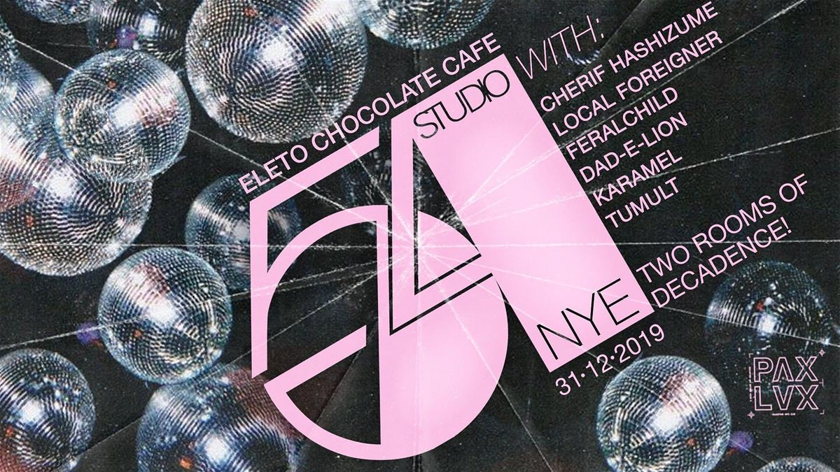 Studio 54 Nye At Eleto Chocolate Café Folkestone