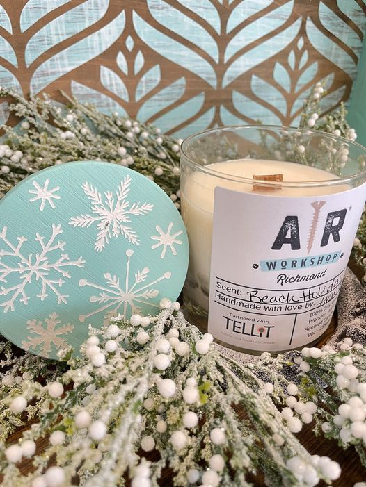 Wine, Wood & Wicks! Make 2 custom holiday-themed candles in this workshop!, 12 November | Event in Laurel