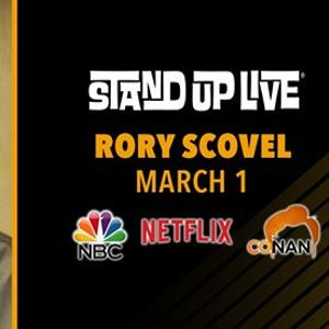 Rory Scovel at Stand Up Live
