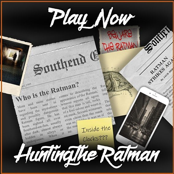 Hunting The Ratman - Outdoor Mystery Game | Event in Southend-on-Sea | AllEvents.in