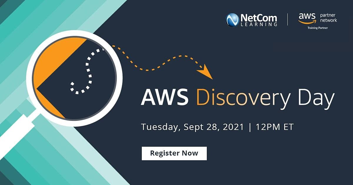 Live Event - AWS Discovery Day, 28 September | Event in New York | AllEvents.in
