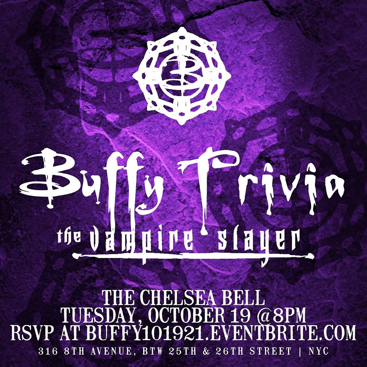 Buffy the Vampire Slayer Trivia, 19 October   Event in New York   AllEvents.in