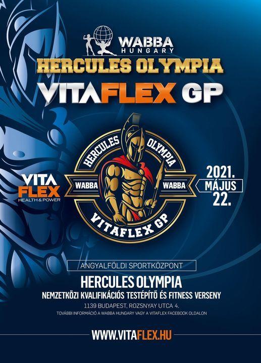 Vitaflex Hercules Olympia 2021 Angyalfoldi Sportkozpont Budapest May 22 2021 Allevents In