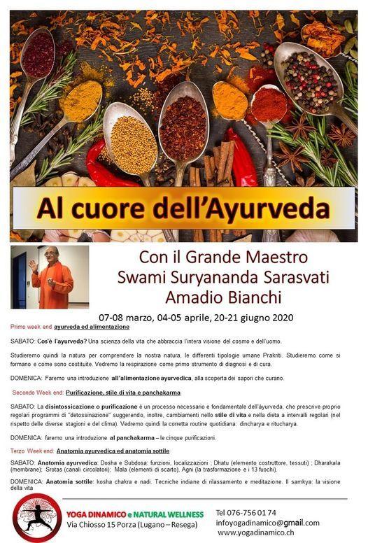 Al cuore dell'Ayurveda con il Maestro Amadio Bianchi, 14 November | Event in Lugano | AllEvents.in