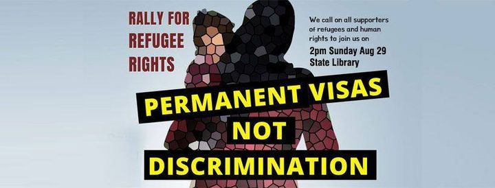 Permanent Visas not Discrimination: Rally for Refugee Rights, 25 July   Event in Melbourne   AllEvents.in