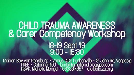 Child Trauma Awareness & Carer Competency Workshop