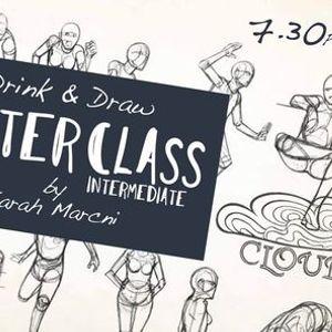 MASTERCLASS Drink & Draw