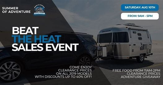 Beat the Heat Sales Event at Airstream of DFW, Fort Worth