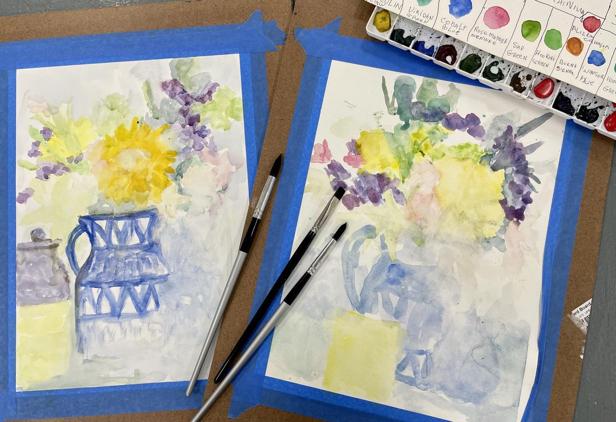 Beginning Watercolor Painting with Lynette -Sat., Aug. 14-Sept. 25, 14 August | Event in Conifer | AllEvents.in