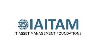 IAITAM IT Asset Management Foundations 2 Days Training in Hamilton City