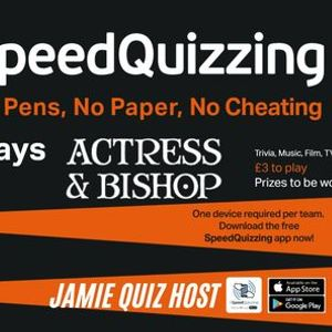 Actress & Bishop Quiz Night