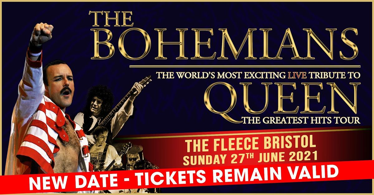 The Bohemians - A Tribute To Queen, 15 August   Event in Bristol   AllEvents.in