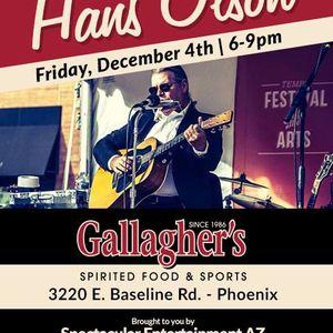 AZ Blues Legend- HANS OLSON performing live