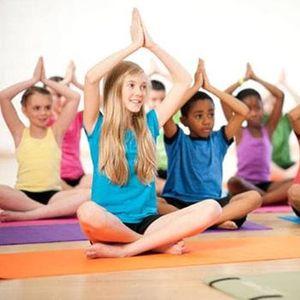 Kids school holiday yoga