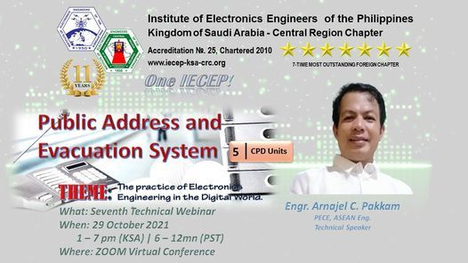Public Address and Evacuation System, 29 October   Online Event   AllEvents.in