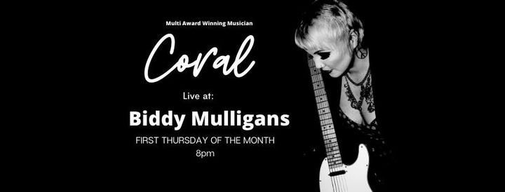 Live At Biddys First Thursday Of The Month Hamilton