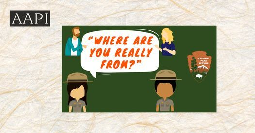 """Where Are You Really From?"" Park Rangers Converse on the Power of Place, 19 May 