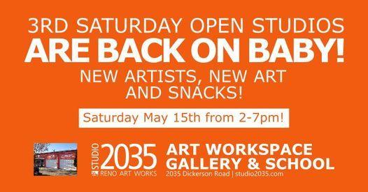 3rd Saturday Open Studios & Art Sale, 19 June | Event in Reno | AllEvents.in